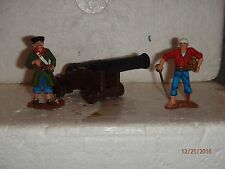 Unknown Maker St Petersburg Painting Pirate Captain & Pirate Treasure & Cannon