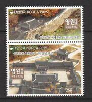 South Korea 2015 UNESCO World Heritage Stamps