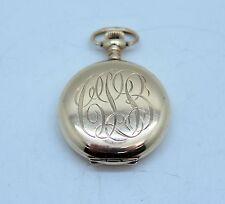 Women'S Pocket Watch Gold Plated Waltham