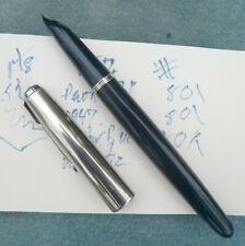 1947 Vintage Parker 51 Fountain Pen Cedar Blue? Vacumatic