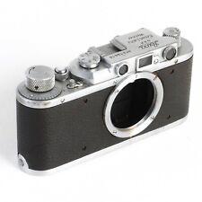 :Leica II 1936 35mm Film Rangefinder Chrome Camera Body #219616 [EX++]