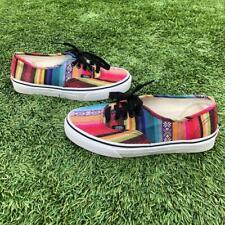 Vans 721277 Plaid Hippie Boho Canvas Sneaker Shoes Mens 6.5 Womens 8