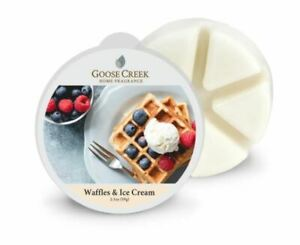 Goose Creek Candle - Wax Cube Melts WAFFLES & ICE CREAM SCENT 2.1 oz NEW PACK