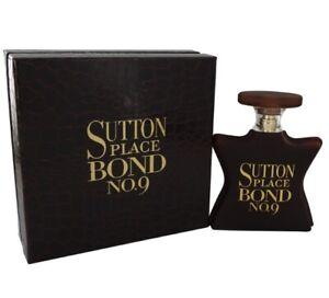 Bond No. 9 SUTTON PLACE 3.3 oz / 100 ml Eau De Parfum EDP Spray, NEW, SEALED