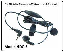Nokia HDC-5 Handsfree Kit 2.5mm Mono Earphone for 1100 3310 3410 3510i 6100 8800