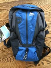 Gregory Nano All Terrain Day Hiking Pack Outdoor Backpack 17L 2lb Blue Steel NWT