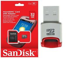 SanDisk 32GB MicroSD Micro SDHC TF Class 4 Memory Card for ASUS PadFone X mini