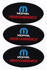 MOPAR PERFORMANCE BUY 2 GET 1 FREE EMBROIDERED SEW/IRON ON PATCH DODGE CHRYSLER