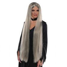 Halloween Adults Long Grey Wig