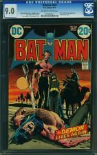 Batman 244 CGC 9.0 -- 1972 -- Ra's Al Ghul. Neal Adams classic cvr #0193062011