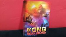 KONG SKULL ISLAND - 3D Lenticular Card Magnet / Cover for BLURAY STEELBOOK
