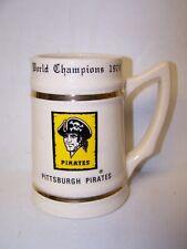 1979 Pittsburgh Pirates World Series Champs Mug Stein Lewis Bros Usa