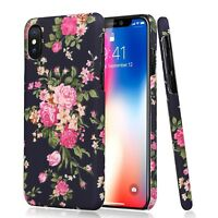 3D Fashion Flower Pattern Back Phone Case Cover For iphone X XS 7 8 Plus Samsung
