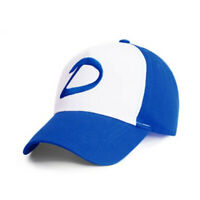 The Walking Dead Clementine Clem Cosplay Hat White Blue Embroidered Baseball Cap