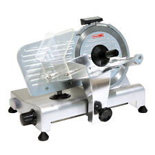 "Commercial 8"" Blade Electric Deli Meat Slicer 280W Deli Food Veggies Cutter"