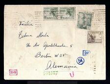 12522-ESPAÑA-SPAIN.MILITARY CENSOR COVER MADRID to GERMANY 1941 WWII.Censura.