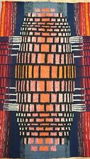 "Hand Woven Polish Textile Vintage Tapestry Kilim Wall hanging rug  2'6"" x 4'"