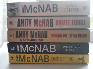 Andy McNab Books Bundle