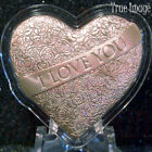 2021 I love you with All My Heart $2 Rose-Silver Coin Solomon Islands by PAMP