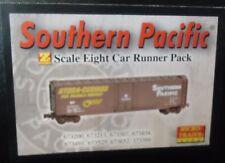 Z Micro-Trains 8 car Runner Pack - Southern Pacific  50' Box Car 99400808