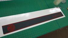 Austin MG Metro 1300 tailgate stripe & decals restoration stickers