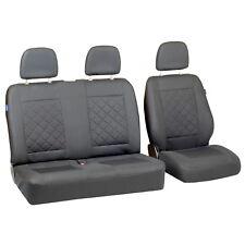 Fundas para asientos grises para citroen jumpy asiento del coche referencia gris juego 1+2