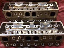 Sprint car Brodix 14* Degree Small Block Chevy Aluminum Cylinder Heads weld tech