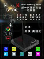 HomeX Chinese TV Box 2020 中文機頂盒 Ultra HD 100K+ Movies/Dramas 500+ Channels