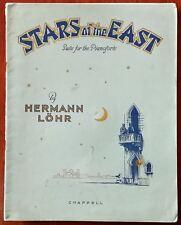 Stars of the East, suite pour piano-forte par Hermann Lohr – PUB. 1929