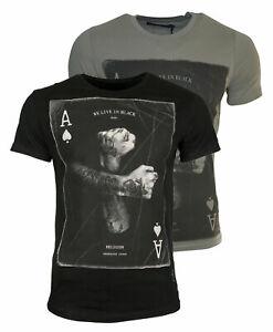 RELIGION Clothing Herren T-Shirt ACES UP