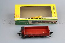 Y282 Fleischmann train Ho 1485 wagon tombereau avec cabine type O20 DB 6 31025