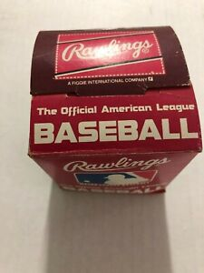 NEW Vintage 1980's Bobby Brown Official American League Baseball Unsigned W/BOX