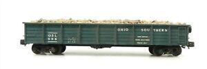 HOn3 Narrow Gauge #506 OSL Ohio Southern Line GONDOLA w/ LOAD ~ F18