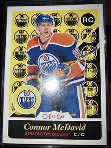 CONNOR MCDAVID 15-16 UD OPC ROOKIE 🔥
