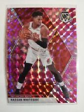 Hassan Whiteside 2020 NBA Panini Mosaic Basketball PINK CAMO card #174 Blazers