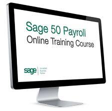 Sage 50 Payroll Online Course (V22 2016/2017)