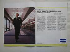 3/1990 PUB HUGHES AIRCRAFT GM ELECTRONICS MALCOLM R CURRIE ORIGINAL AD