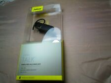 New Black Jabra Talk BT HDST Bluetooth Wireless Headset NIB for IOS and Android