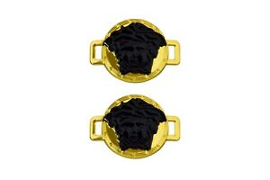 NEW MEDUSA HEAD METAL LACE LOCKS COLORFUL LOCK FOR ALL SHOES BUY 2 GET 1 FREE