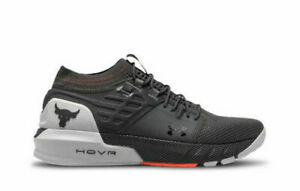 Under Armour UA Project Rock 2 hovr Training Sneakers Shoes Cross Shoes-Gray AU