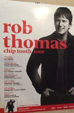 Rob Thomas Chip Tooth Australian Tour Poster 2019