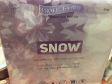 Protect-a-Bed King size Snow Nordic Chill Fiber fitted mattress protector