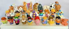 LOT of 30 Fisher Price Little People Dragon Disney Princesses Joker Nativity +