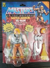 Mattel Masters of the Universe Origins Battle Armor He-Man Deluxe Figure Set