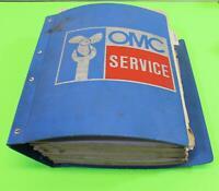 USED EVINRUDE JOHNSON SERVICE MANUAL SET 507508-12/ 507449-D/ 174156/ 17456-3-4