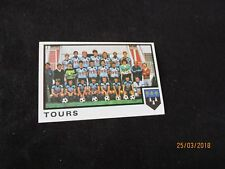FC TOURS    Equipe Image sticker N° 335  FOOTBALL 85 PANINI 1985