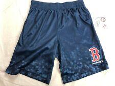 MLB Boston Red Sox Boys' Athletic Shorts - Blue Geometric - NWT - C373