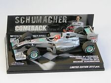 F1 Mercedes GP W01 Michael SCHUMACHER 2010 comeback edition (1/43)