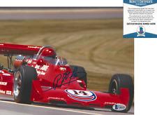 A.J. FOYT SIGNED 8x10 PHOTO INDY 500 CHAMPION DRIVER CAR AJ 7 BECKETT COA BAS