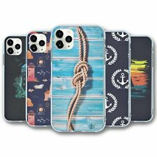 For iPhone 11 PRO Silicone Case Cover Nautical Collection 4